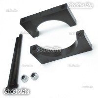 4 Pcs Aluminum 40mm Carbon Fiber Arm Pipe Clamp for Drone Quadcopter Hexacopter