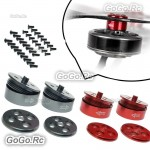 2 Pair Quick Release Propeller Base Mount With Screws For 12-18 Inch Drone Prop