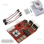 JCX M6 M6 Flight Controller (Digital gyro) for RC Fixed Wing Airplane V-tail
