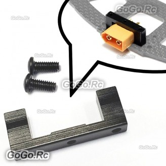 Alloy XT60 Connector Holder Fixture Fixed Mount Parts For RC Plane Multi-rotor