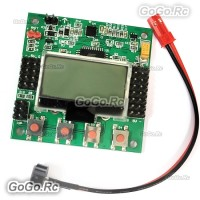 KK2.1.5 LCD Flight Control Board V1.9S for RC Multi-rotor Drone Flying Wing F450