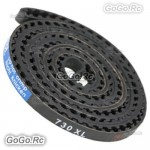 365T X 6MM Tail Drive Belt 730XL For LOGO 600 Helicopter - MK6001