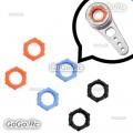 6 Pcs Fragile Ring Gear For Tarot 25T Aluminum MK6014 Servo Arm - MK6016