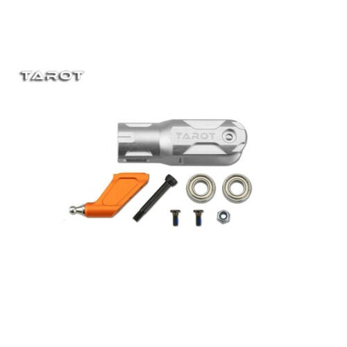 Tarot Metal Main Rotor Holder Silver For Tarot 600 RC Helicopter - MK6032