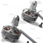 2 Pcs GARTT ML2204S 2300KV CW & CCW Brushless Motor For Multirotor Quadcopter