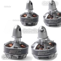 4 Pcs GARTT ML2204S 2300KV CW & CCW Brushless Motor For Multirotor Quadcopter