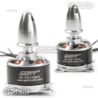 2 Pcs GARTT ML1306 3100KV CW & CCW Brushless Motor For Multirotor Quadcopter