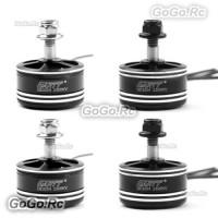 4 Pcs GARTT QE2204 2300KV Brushless Motor CW & CCW For 210 250 300 FPV Drone