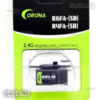 Corona R4FA-SB 2.4Ghz FASST Compatible S.BUS Receiver For Futaba transmitter