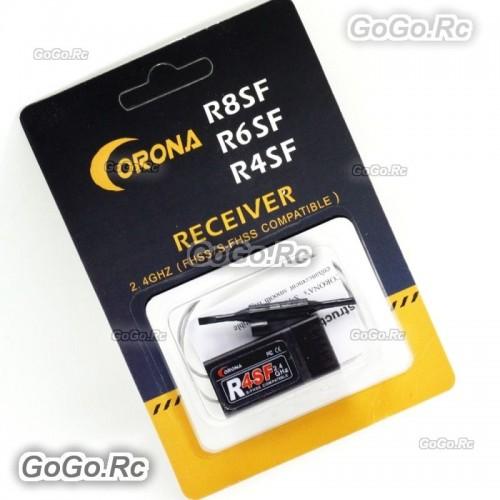 Corona 2.4G R4SF S.Bus Receiver Support FUTABA S-FHSS T6 14SG Transmitter