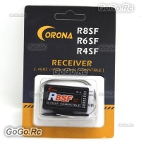 Corona 2.4G R8SF Compatible Receiver Support FUTABA S-FHSS T6 14SG