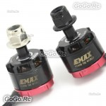 1 Pair EMAX RS1306 4000KV Brushless CW & CCW Motor For FPV Mini Quad Racing FPV