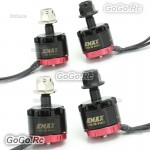 2 Pair EMAX RS1306 4000KV Brushless 2xCW & 2xCCW Motor For FPV Mini Quad Racing