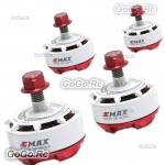 4 Pcs EMAX RS2306 2750KV Editions RaceSpec Brushless Motor for Racing Drone