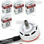 4 x EMAX RS2306 2400KV White Editions RaceSpec Brushless Motor for Racing Drone