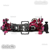 1/10 Alloy & Carbon SAKURA D4 RWD EP Drift Racing Car Frame Body Kit - (2WD)