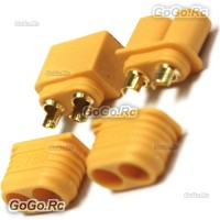 1 Pair Male and Female XT60 Upgrade Bullet Connector Plug For RC Lipo Battery