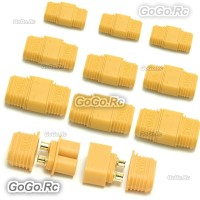 10 Pair Male and Female XT60 Upgrade Bullet Connector Plug For RC Lipo Battery