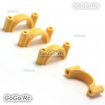 Tarot PTZ Gimbal Tube Clamp Clip Φ25MM Yellow For Carbon Tube - TL100A01-02