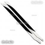 Tarot 360mm Carbon Main Rotor Blades For TREX 450-480 Helicopter TL2721-02