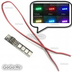 7 Color LED Strip Lights / Night Lights For FPV Quadcopter Multicopter TL2816-05