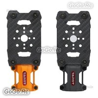2 Pcs Tarot 28MM Suspension Motor Mount Shock Absorber Orange & Black TL28A04-5