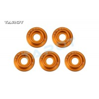 Tarot M3 Metal Main Frame Hardware Washers Body Gaskets Orange - TL2903-03