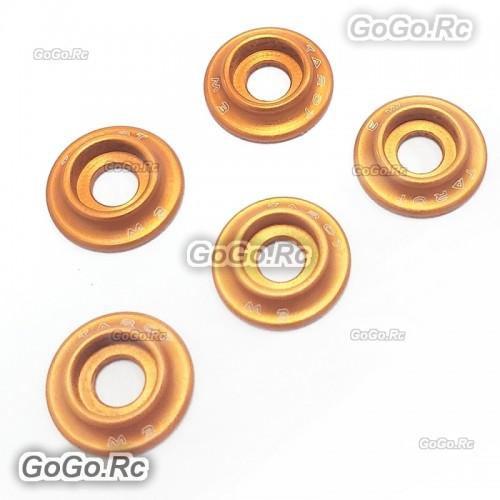 Tarot M3 Metal Main Frame Hardware Washers Body Gaskets Orange - TL2903-03