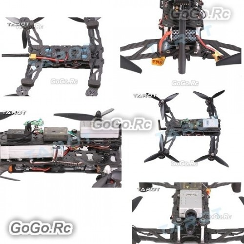 Tarot 300mm Mini 4-Axis Drone Multicopter Quadcopter Frame