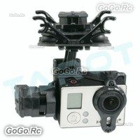 Tarot T4-3D Dual Shock-Absorber 3-Axis Brushless Gimbal for Camera Gopro4 TL3D02
