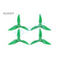 Tarot 3031 3 inch Tri-Blade Green Propellers 2xCW 2xCCW RaceKraft Style TL3E2-B