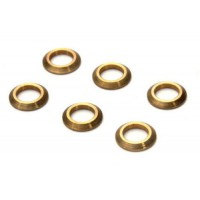 6 Pcs Feathering Shaft Spacer Collar For Trex 450 DFC Helicopter - TL45000-02