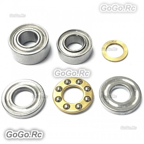 TAROT 450 DFC Bearing Set For 450 DFC Helicopter Main Rotor Holder USPS
