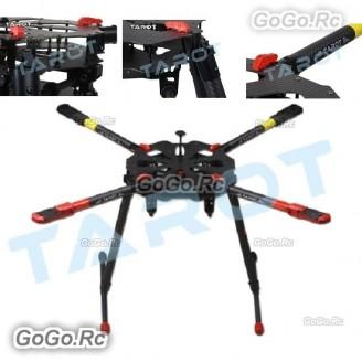 """Tarot X4 Quad-Copter FPV Umbrella Folding Arm w/ Electronic Landing Gear TL4X001 """