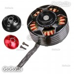 TAROT 6115 320KV Self-locking CCW thread Brushless Motor BLACK Red cover TL4X003