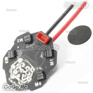 TAROT 4 in 1 ESC Signal & Power Integrated board hub For Quadcopter - TL4X004