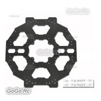 Tarot FY680 Foldable Hex-copter Carbon Fiber Main Plate Adapter Plate - TL68B03
