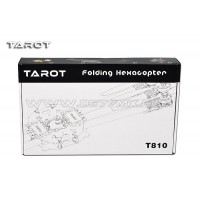 Tarot T810 3K pure carbon 810MM Folding Rack 6 Axis Multiortor Drone - TL810A
