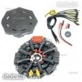 Tarot Octocopter Power Distribution Board PCB Signal Hub - 1000 X8 Drone TL8X018