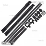 Tarot T810 T960 Carbon Fiber Foldable Landing Skid Gear For Quadcopter - TL96013