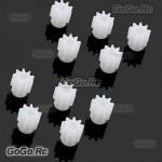 10 Pcs Motor Engine Wheel Gear 9T For SYMA X5C Quadcopter Helicopter Drone Parts