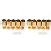 10 Pcs 6 mm Female Gold Bullet Connector for Battery Motor Esc For RC
