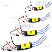 4 x SimonK 40A ESC Brushless Speed Controller 2-4S 5V 3A BEC for FPV Multicopter