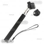 Extendable Arm Stick Monopod with Tripod Adapter for Gopro HD Hero 3+/3/2/1 GP61