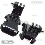 2 Pcs Vertical Surface J-Hook Buckle Mount Adapter For GoPro Hero 2 3 3+ 4 GP19