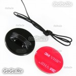 Camera Tethers Strap With 3M Sticker Adhesive Pad For GoPro Hero 1 2 3 3+ 4 GP23