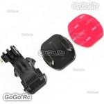 J Hook Buckle+Flat Adhesive Mount With 3M Sticker F Gopro Hero 1 2 3 3+ 4 - GP63