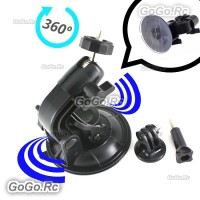 9CM Diameter Suction Cup + Tripod Adapter Mount For Gopro Hero 4 3+ 2 - GP68