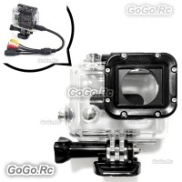 Skeleton Housing Protective Case Mount Without Lens for Gopro HD Hero 3 - GP47