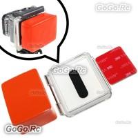 Floaty Float Box +3M Adhesive + Waterproof Backdoor Cover for Hero 2/3 (GP90)
